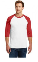 Gildan Heavy Cotton 3/4-Sleeve Raglan T-Shirt. 5700