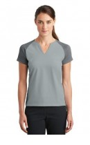 Nike Golf Ladies Dri-FIT Stretch Woven V-Neck Top. 838960