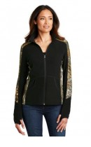 Port Authority Ladies Camouflage Microfleece Full-Zip Jacket. L230C