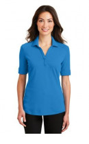 Port Authority Ladies Silk Touch Interlock Performance Polo. L5200