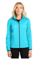 Port Authority Ladies Active Soft Shell Jacket. L717