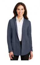 Port Authority Ladies Interlock Cardigan. L807