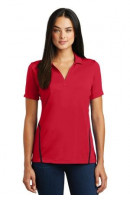 Sport-Tek Ladies Contrast PosiCharge Tough Polo. LST620