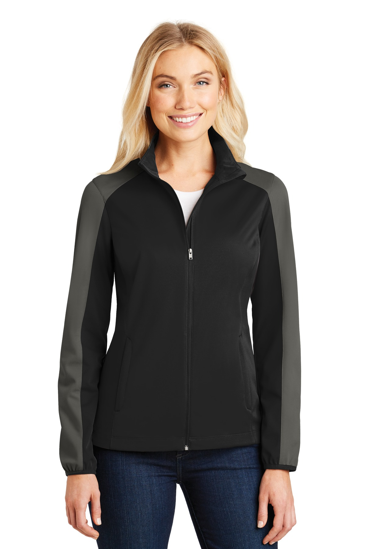 Port Authority ®  Ladies Active Colorblock Soft Shell Jacket. L718